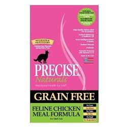 Precise Naturals Grain Free Chicken Dry Cat Food, 12-lb Bag