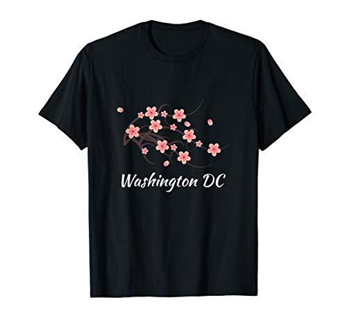 Authentic Washington DC Cherry Blossom Flowers T-shirt