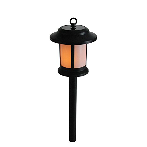 Gerson 13.5' Black and White Rectangles LED Battery Operated Indoor/Outdoor...