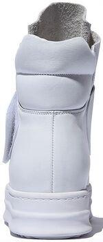 Laruise Women's Leather Bootie White w1kSEr