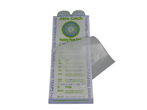 8 Pantry Moth Traps   Effective Non-toxic Pheromone Lure   USA Made   Guarantee by Able Catch (Image #4)