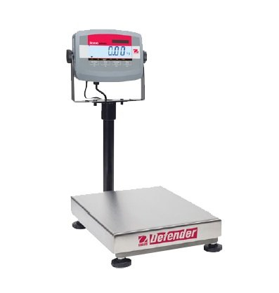 Defender 3000 Washdown Scale - Ohaus D31P30BR Defender 3000 Bench Scale Rectangle, 60lb x 0.01Lb