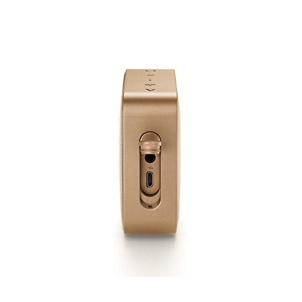 JBL Go 2 - Mini enceinte Bluetooth Portable - Étanche pour Piscine & Plage Ipx7 - Autonomie 5hrs - Qualité Audio JBL - Champagne 4