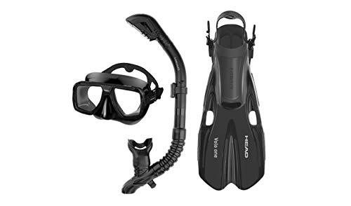 Head Tarpon2/Barracuda Volo Mask Snorkel Fins Set -