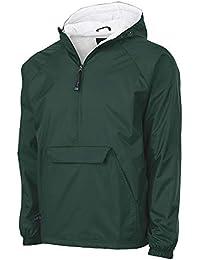 60055054957b Unisex-Adult's Wind & Water-Resistant Pullover Rain Jacket (Reg/Ext Sizes
