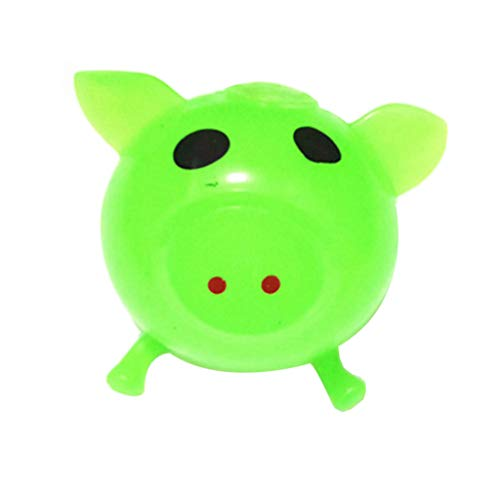 OrchidAmor New 1Pcs Jello Pig Cute Anti Stress Splat Water Pig Ball Vent Toy Venting Sticky ()