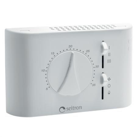 seitron Termostato para ventilconvettori fan-coil Diamond New Line 230 V tfd01 m: Amazon.es: Iluminación