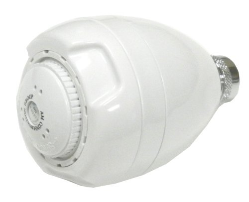 AM Conservation Group, Inc. SH030W-2.0-Z Simply Conserve Low Flow 2.0 GPM bianca Spoiler Showerhead by AM Conservation Group