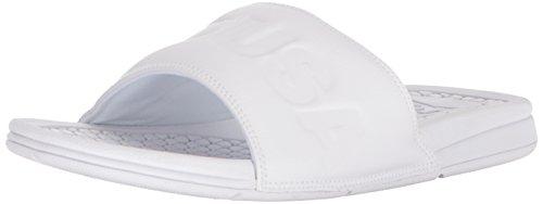 DC Men's Bolsa SE Slide Sandal, White/White, 6 D D US
