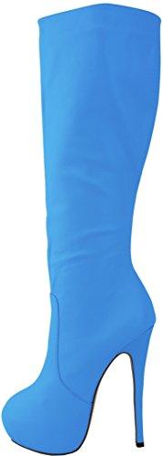 Salabobo - Botas Chukka mujer Azul