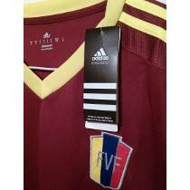 Venezuela Fvf Copa America 2015 Home Jersey Long Sleeve (Medium) ()