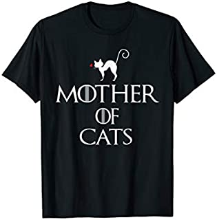 Mother of Cats Women shirt Gift Idia Cat Lovers 2019 T-shirt | Size S - 5XL