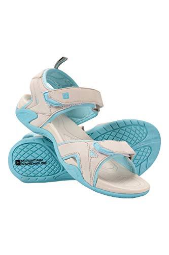 Boucle Sandales Gris Tongs De Textile Fixation Doublure Phylon Et Crochet Chaussures Mountain Andros Dames Féminin Plage D'été Semelle Warehouse ExUqOH