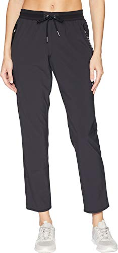 ASICS Women's Stretch Weave Pants, Performance Black, - Pants Asics Workout