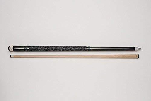 Leinen-Griffband 2-teilig BK BE0-029 Billard-Queue f/ür Poolbillard 5//16-18-Gewinde Vollholz-Oberteil mit Klebeleder