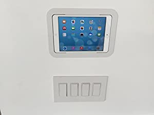 in wall ipad mount for ipad mini computers