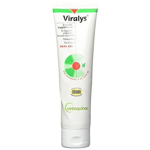 Viralys Oral Gel For Cats 5oz delicate