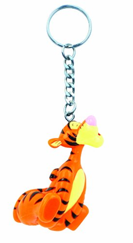 Disney Tigger PVC Figural Key Ring -
