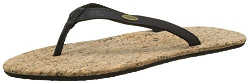 O'Neill Fw Cork Bed Flip Flop - Chanclas Mujer Negro (Black Aop)