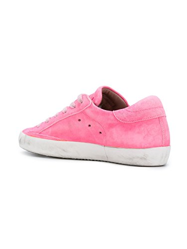 CLLDXR04 Pink Sneakers Model Leather Philippe Women's 4fFqE