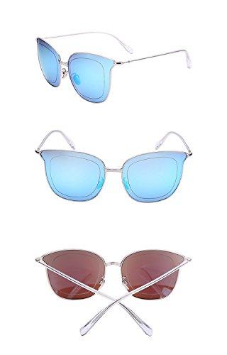 X226 Color amp;Gafas de B reflectante color de C cine sol amp; Lente Gafas Gafas de de sol protecciónn personalizadas de grande marco UxpgCHd