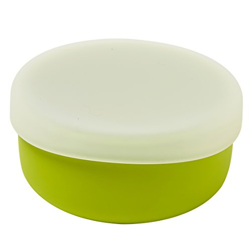 mini twist Silicone Toddler Bowl Green product image