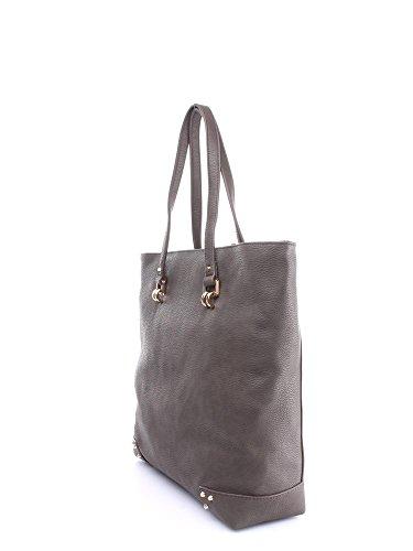 BORSA LIU JO ORIONE Shopping bag verticale marrone B4/14_15