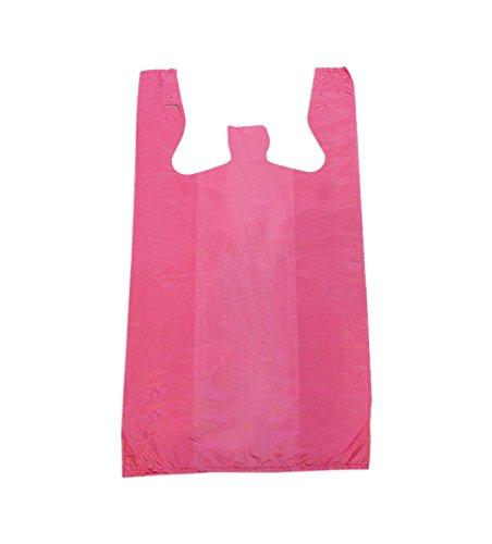 KC Store Fixtures 06139 Plastic T-Shirt Bag, High Density, 12