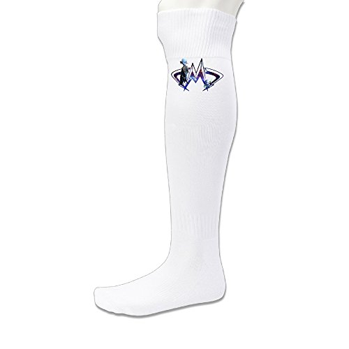 LFISH3 Megamind 7423 Long Over Knee High Sock - White