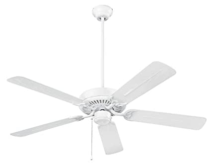Nutone cfo52wh energy star qualified dual blades outdoor ceiling fan nutone cfo52wh energy star qualified dual blades outdoor ceiling fan 52 inch white aloadofball Image collections