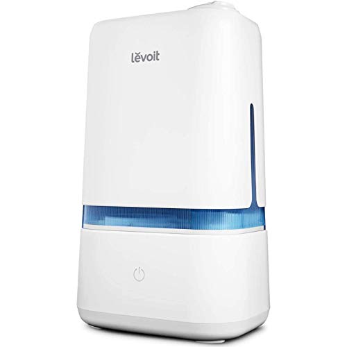 LEVOIT Humidifiers for Bedroom, 4L Ultrasonic Cool Mist Humidifier for Large Room Babies, Air Humidifier with Essential…