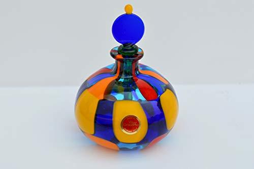 (Murano Glass Authentic Handblown Perfume Bottle, Pazzia)