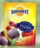 SunSweet Pitted Prunes, Cherry Essence, 6 oz (Pack of 6)