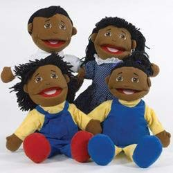Cre8tive Minds African American Puppet Family (Puppet Family American African)