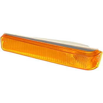 Depo 331-1503N-US-R Ford F-Series Pickup//Bronco Driver//Passenger Side Replacement Rear Side Marker Lamp Unit