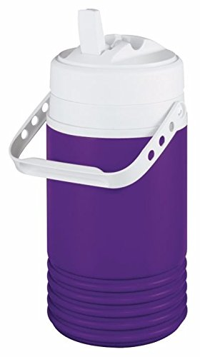 (Igloo Legend Beverage Jug, 1/2 Gallon, Purple/White)