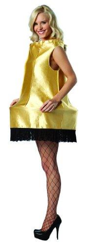 Rasta Imposta A Christmas Story Foam Leg Lamp Costume, Gold, One - Shades Rasta