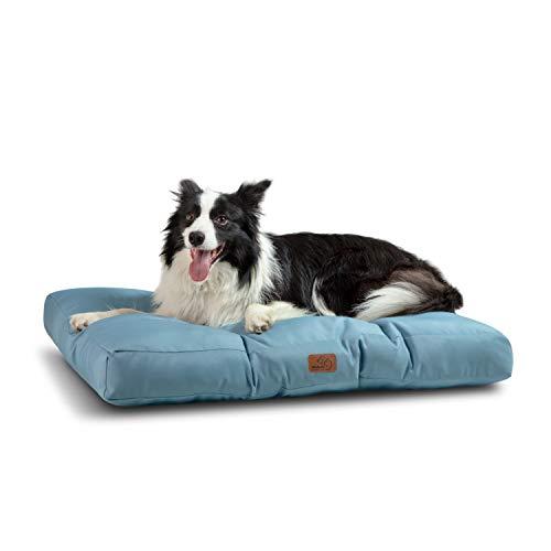 🥇 Bedsure Camas para Perros Impermeable XL – Colchón Perro para Verano Lavable y Suave