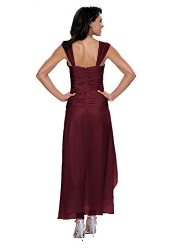 Cóctel Astrapahl Vestido Weinrot Rojo Mujer co6021ap 8qZwxEqA