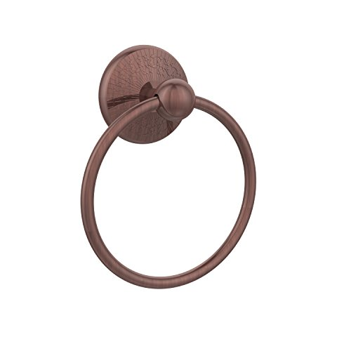 - Allied Brass PMC-16-CA 6-Inch Towel Ring, Antique Copper