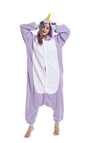 Sqlszt Women Men Adult Animal Unicorn One Piece