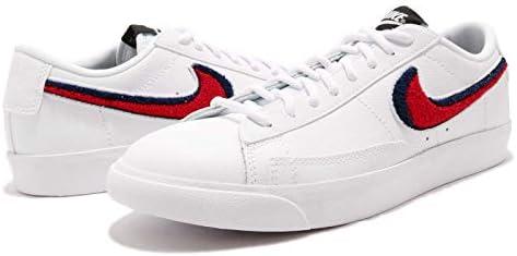 sports shoes c2a17 c8d6b Nike Men's Blazer Low 3D, White/University RED-White-Blue ...