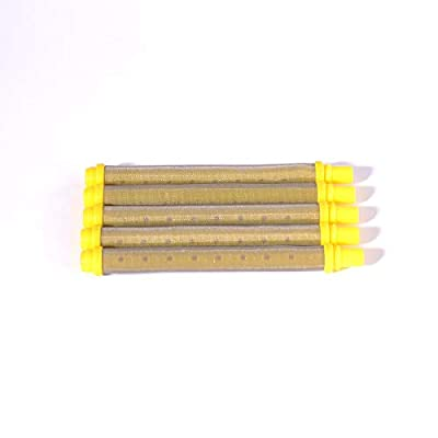 5 Pieces Wagner Airless Paint Sprayer Gun Filter 100 Mesh 0089324, 581-062 Push on Type: Automotive