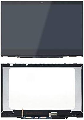AJParts New 15.6 HP Pavillion Model 15-au072sa Laptop LCD HD Screen Slim Display Panel Backlit HD Replacement