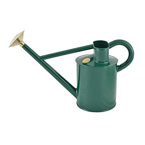 Haws 198-1 Traditional Watering Can - 1.2 Gallon, Green ()