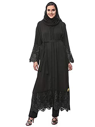 Look Style LS150137c Abayas for Women, Black