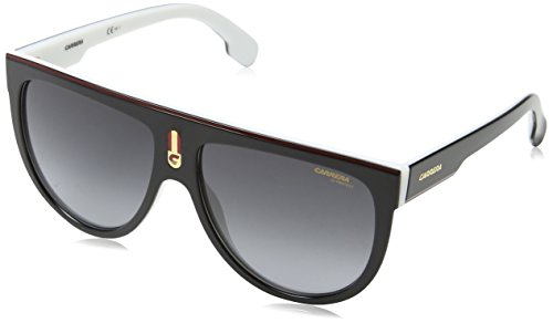 Carrera FLAGTOP 80S9O (Black - White with Grey Gradient - Sunglasses Carrera Cool