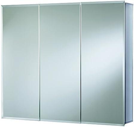 Croydex WC102422AZ Lymington Triple Door Tri-View Cabinet, 24-Inch x 24-Inch, White