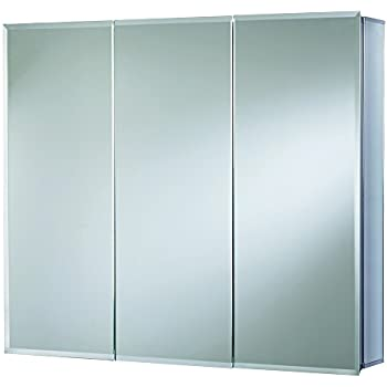 Croydex Westbourne 30 Inch X 36 Inch Triple Door Tri View Cabinet With Hang  U0027Nu0027 Lock Fitting System