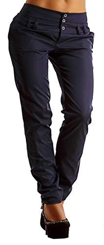 Donna Pantaloni Leggings Trend Matita Snone Plain Casual Slim Lunghi Dark Jeans Blue Femminile Fit A d5wnZq4
